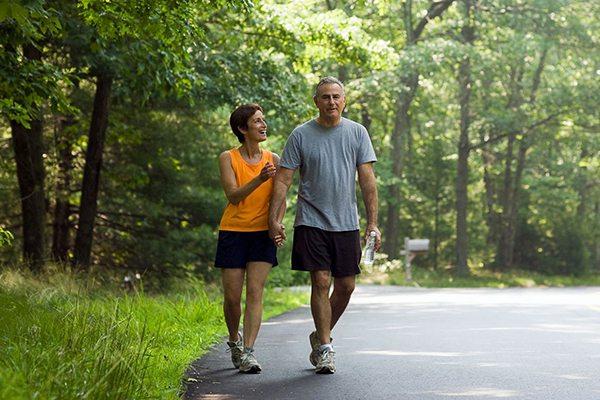 Đi bộ giúp tăng tuổi thọ