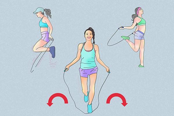 Lịch tập nhảy dây giảm cân