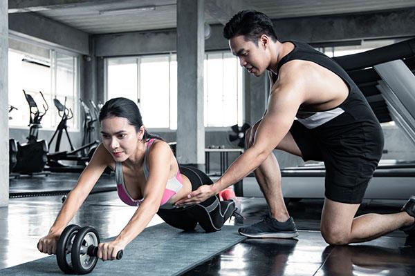 Chọn khung giờ tập Gym