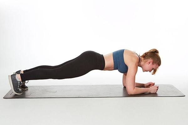 Bài tập Plank cho nữ