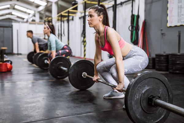 Tập gym giúp tăng cường sức khỏe