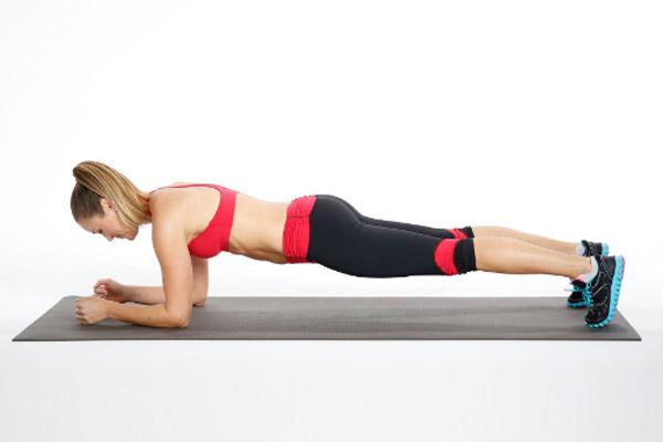 Tư thế chuẩn Plank