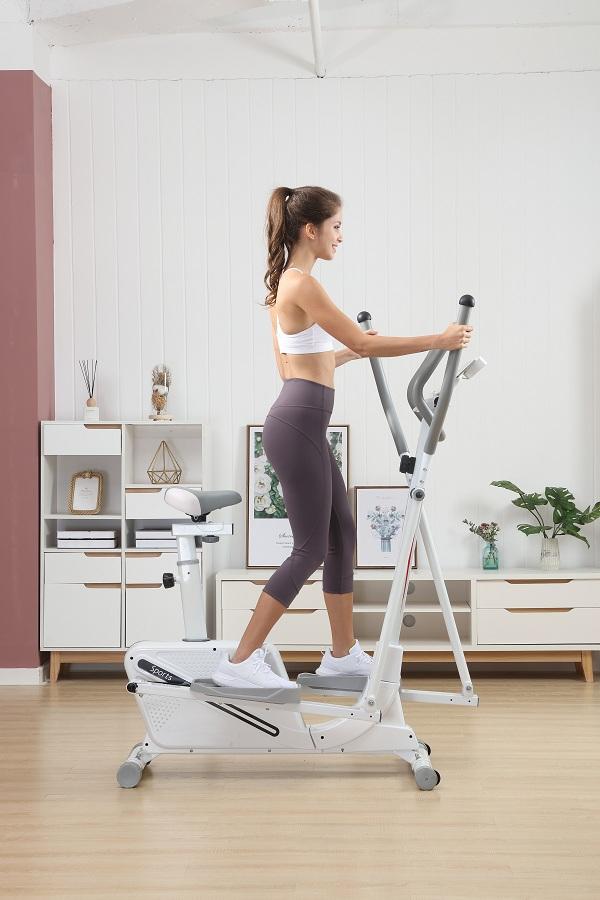 Giảm cân hiệu quả với xe đạp tập thể dục tại nhà