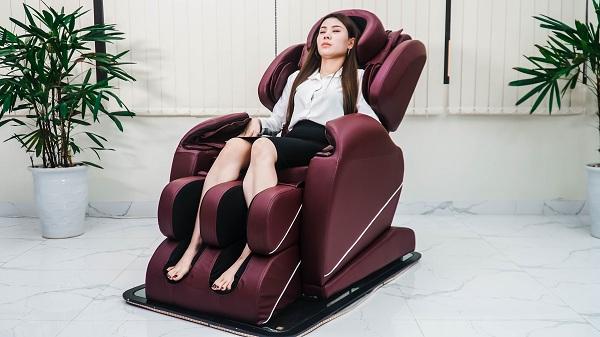 Ghế massage giúp bạn có một giấc ngủ ngon hơn