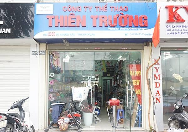 Cửa hàng Thể Thao Thiên Trường chi nhánh tại Hà Nội