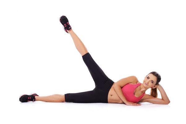 Side Leg Raise là tập nhỏ đùi đơn giản